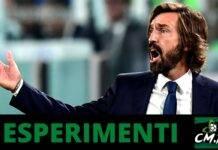 Esperimenti Pirlo Juventus