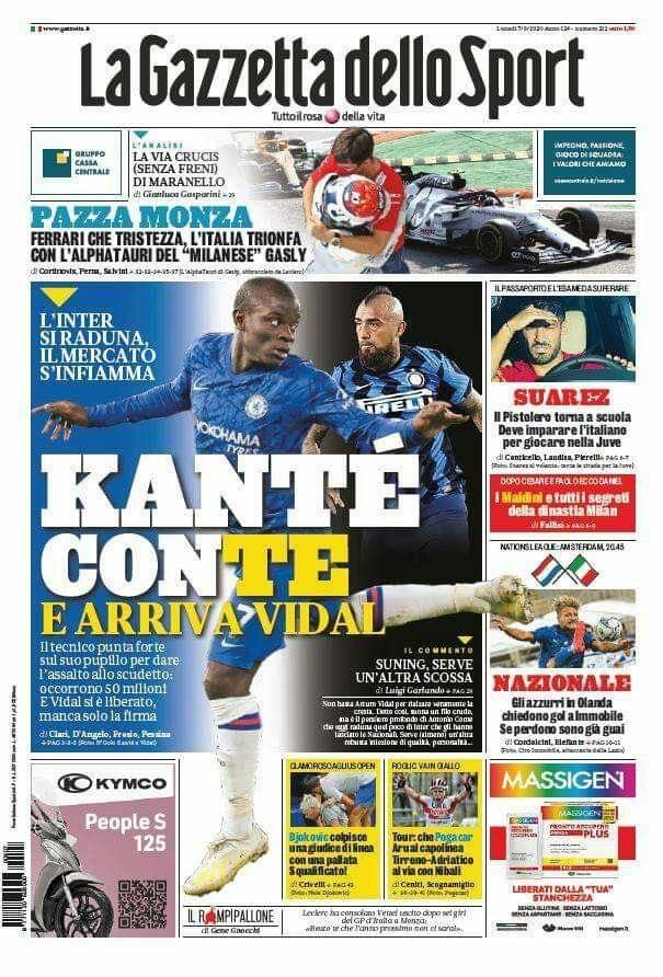 Grand Prix d'ITALIE 2020 - 08/17 - Page 2 Gazzetta206