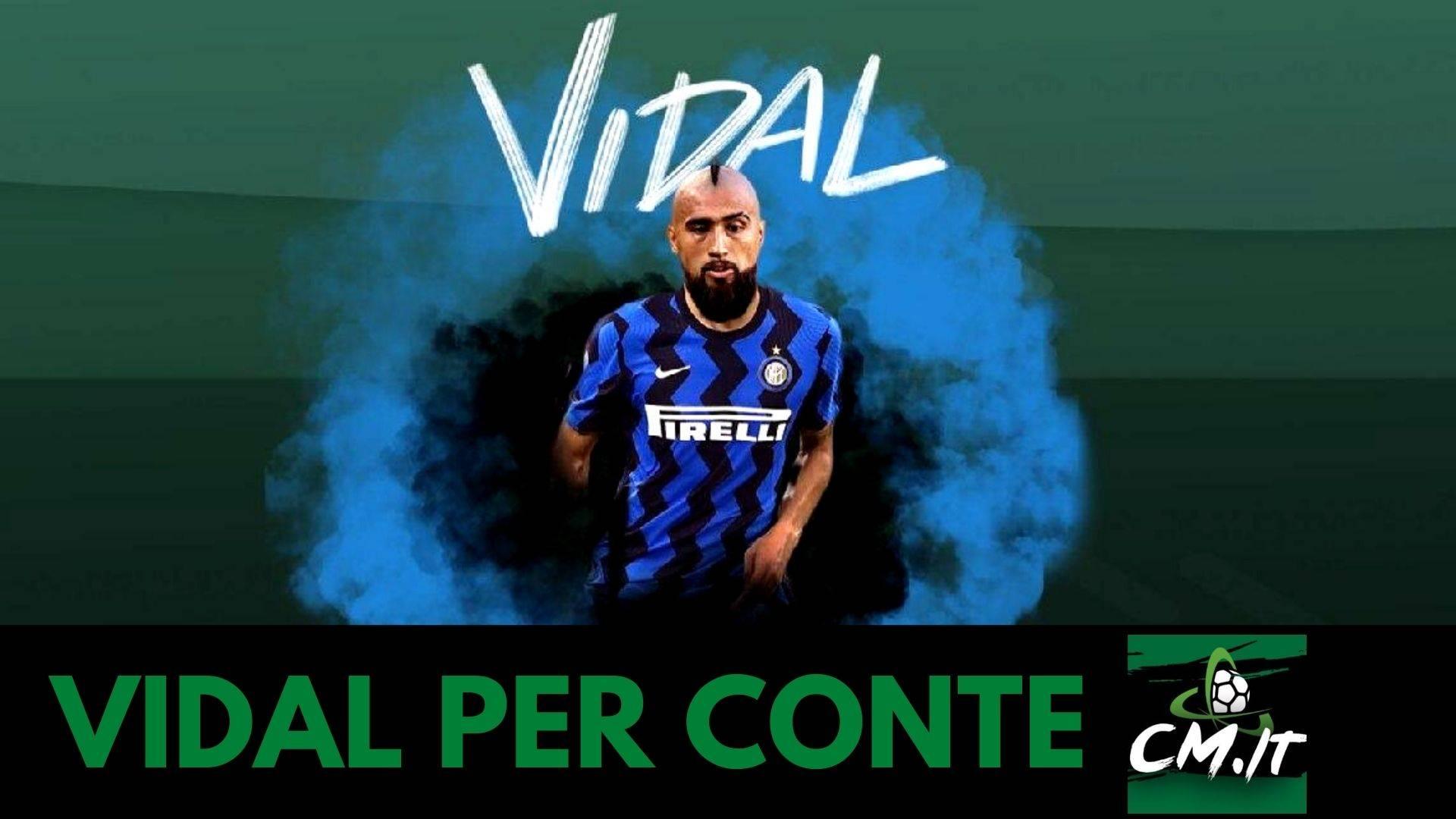 Vidal Inter, il cileno è