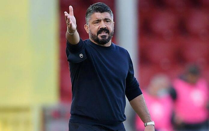 Diretta Bologna Napoli formazioni Gattuso