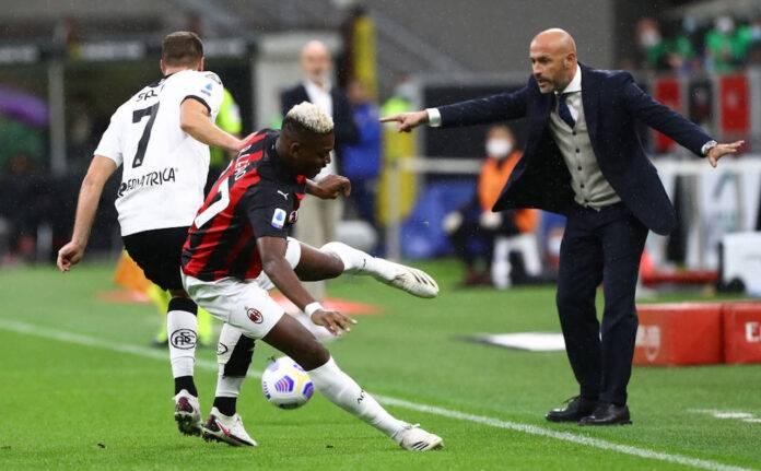 Leao pagelle Milan-Spezia