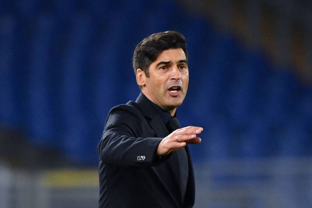 Paulo Fonseca post Roma-Benevento