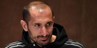 Juventus Chiellini infortunio