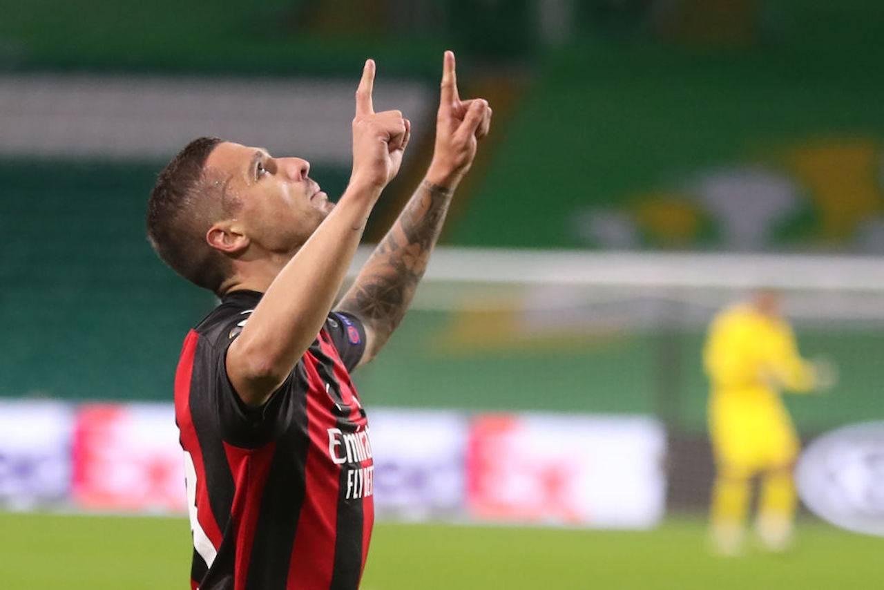 Krunic voti primo tempo Celtic-Milan