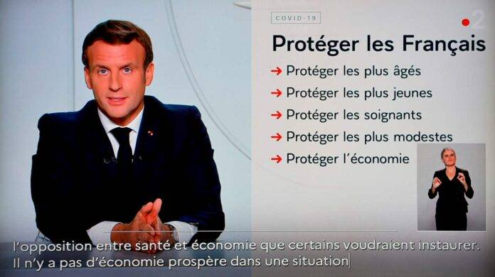 coronavirus Francia Macron