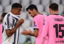 Juventus-Barcellona Danilo