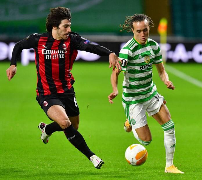 voti Celtic-Milan Tonali Kessie