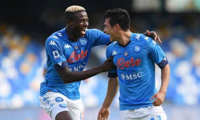Osimhen Lozano Napoli Atalanta pagelle