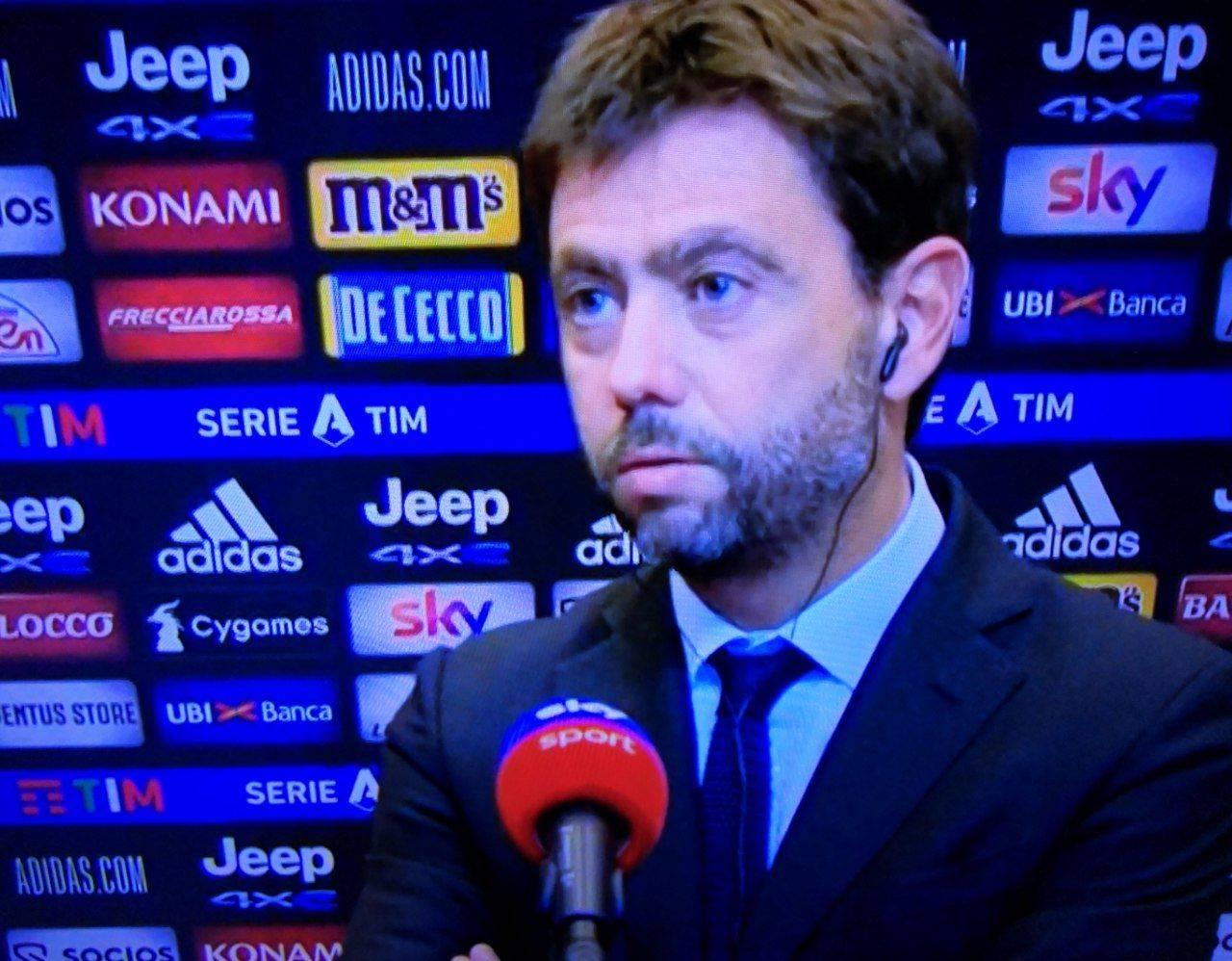 Juventus Napoli, Agnelli: