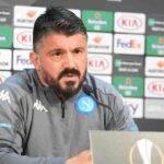 Gattuso conferenza Napoli-Rijeka