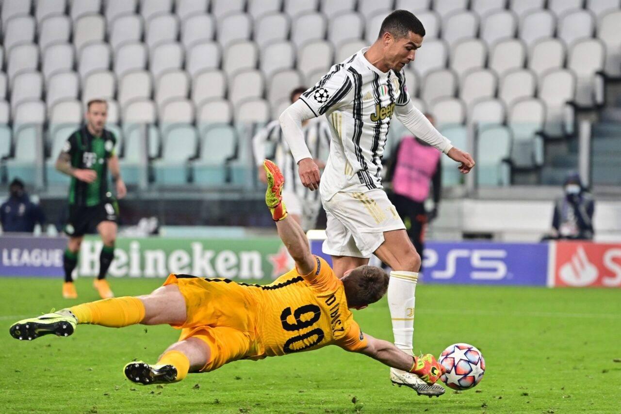 Champions, Juventus-Ferencvaros 2-1: rimonta firmata Ronaldo-Morata
