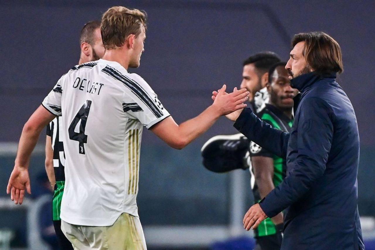 De Ligt post Juve-Ferencvaros