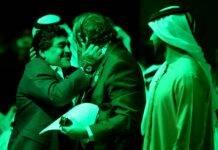 Maradona Platini