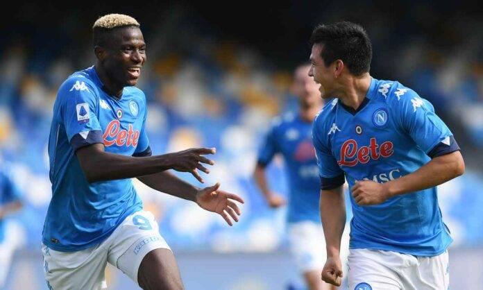 Lozano e Osimhen pagelle Napoli