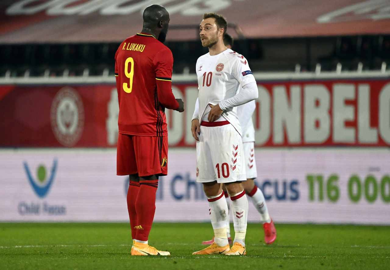 Inter, annuncio Lukaku: 'assist' per Eriksen