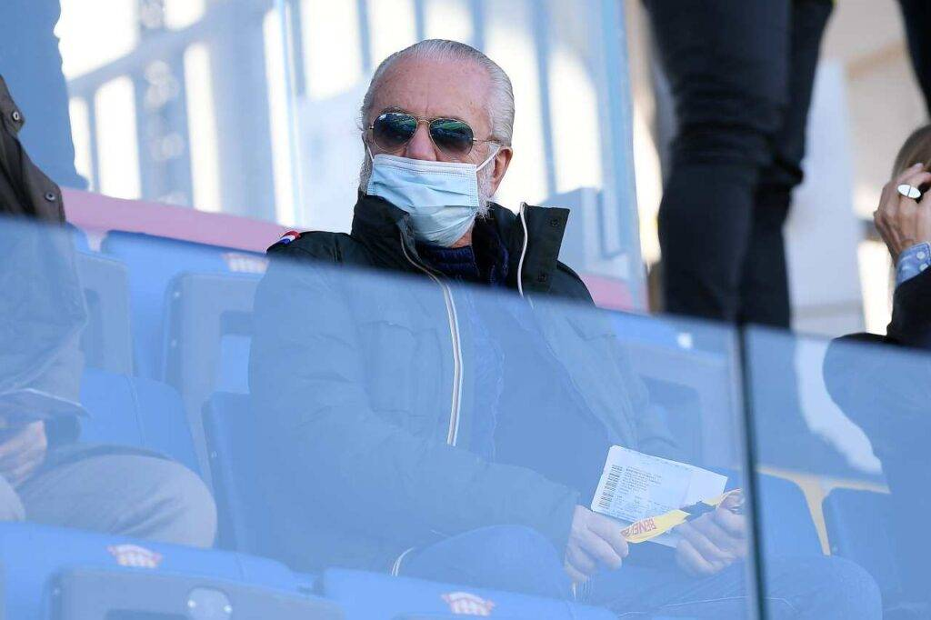 De Laurentiis calciomercato Napoli (getty images)