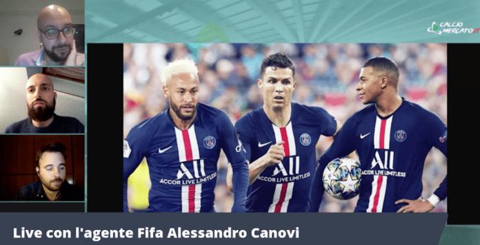 Psg Cristiano Ronaldo Canovi Thiago Motta