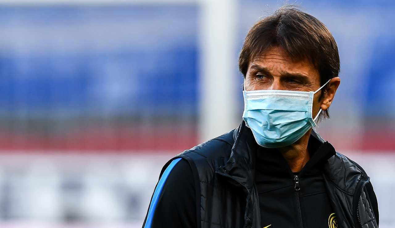 Conte dopo Sassuolo-Inter: