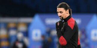 ibrahimovic milan infortunio