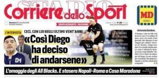 Corriere dello Sport 29 novembre