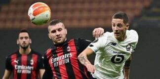 Rebic Milan-Fiorentina