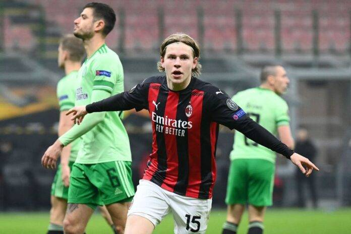 Pagelli Milan-Celtic Hauge