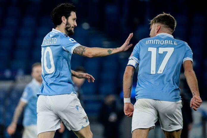 Luis Alberto Immobile Lazio Napoli
