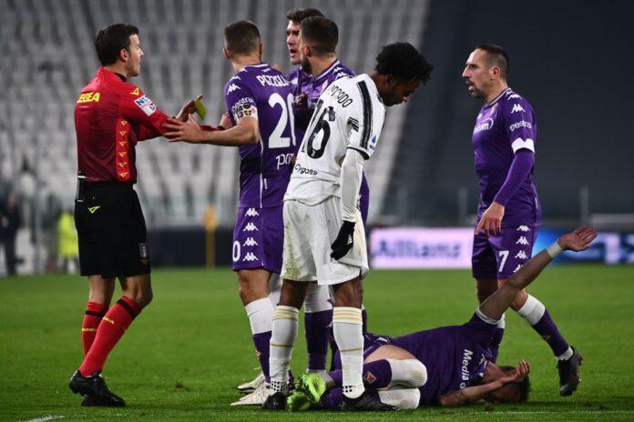 Juventus Fiorentina cuadrado bonucci