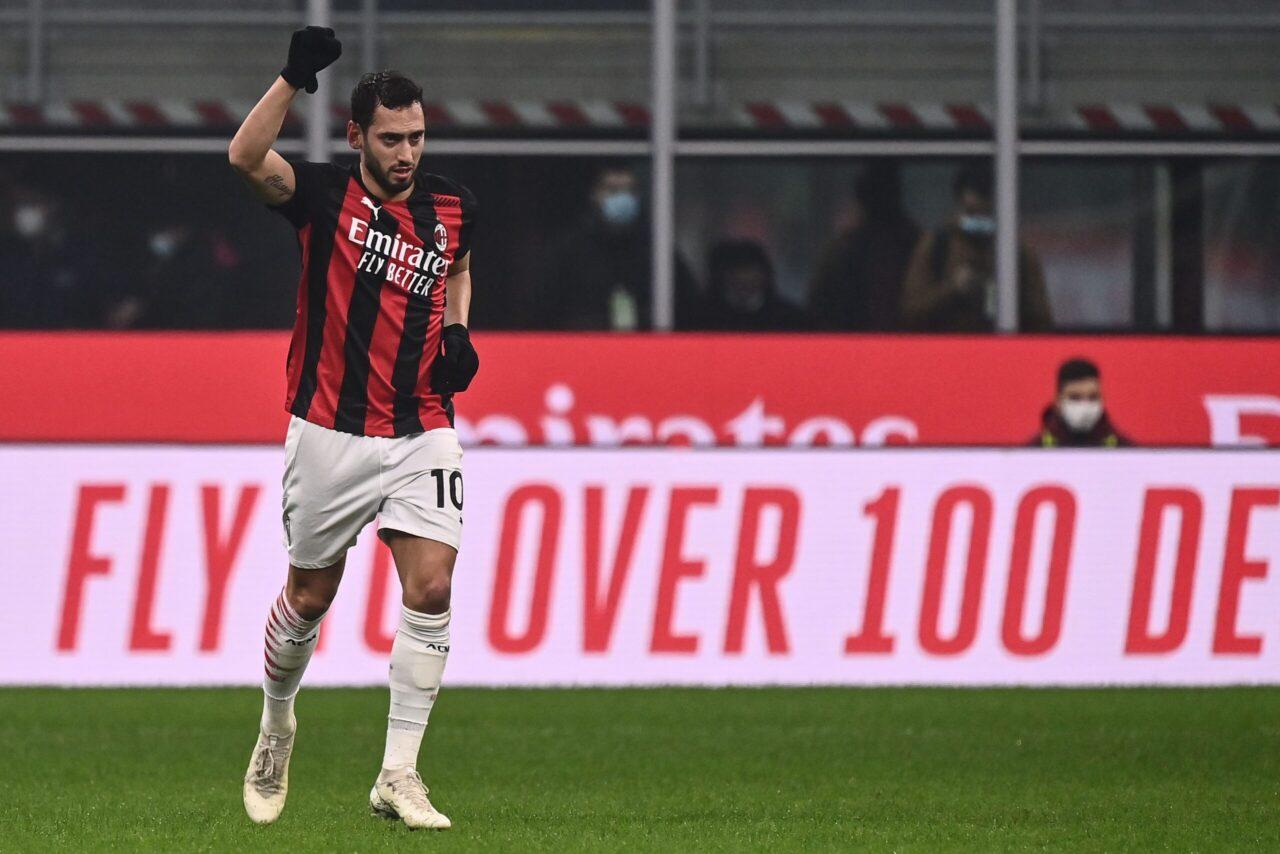 calciomercato Juventus Milan Calhanoglu