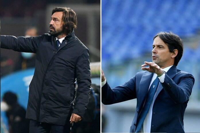Champions Juventus Lazio Pirlo Inzaghi
