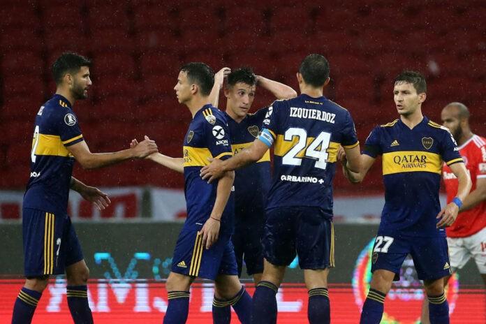 Boca Juniors su Medel