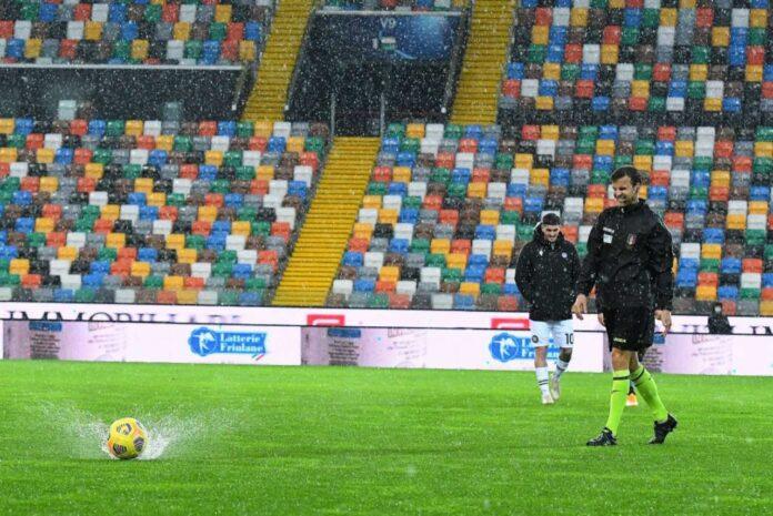 Udinese Atalanta rinvio