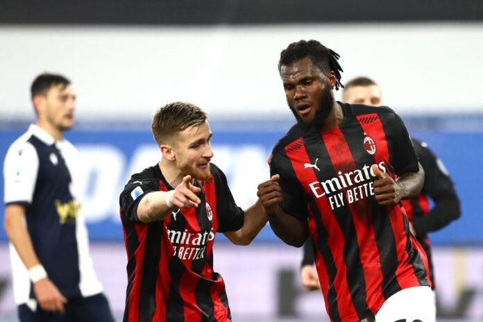 Franck Kessie leader Milan