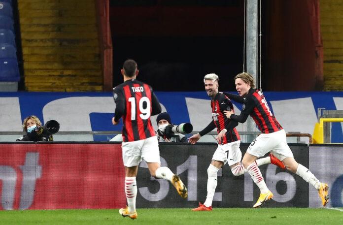 Sampdoria-Milan pagelle