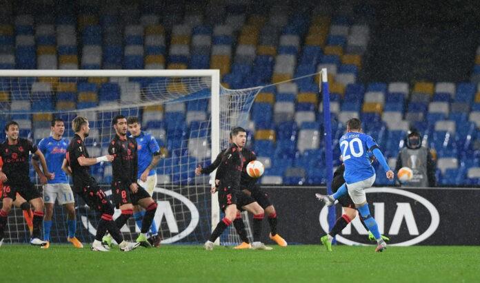 Zielinski Napoli Real Sociedad