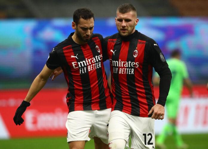 Milan Lazio voti Calhanoglu