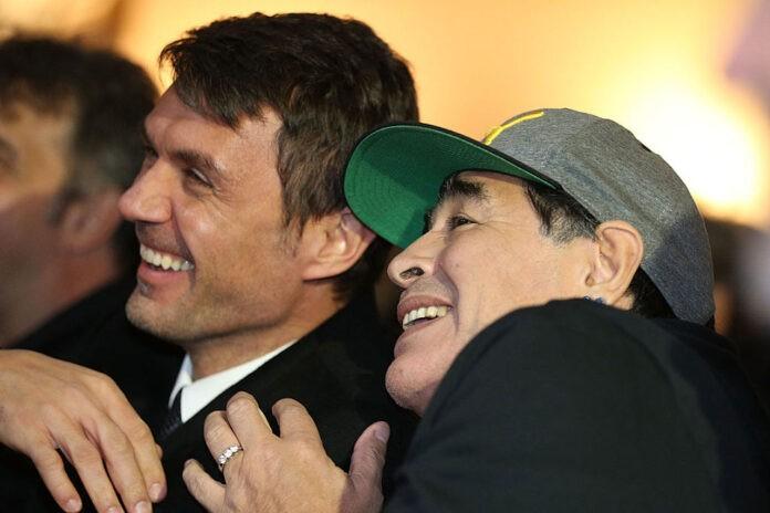 Maldini Maradona Dream Team