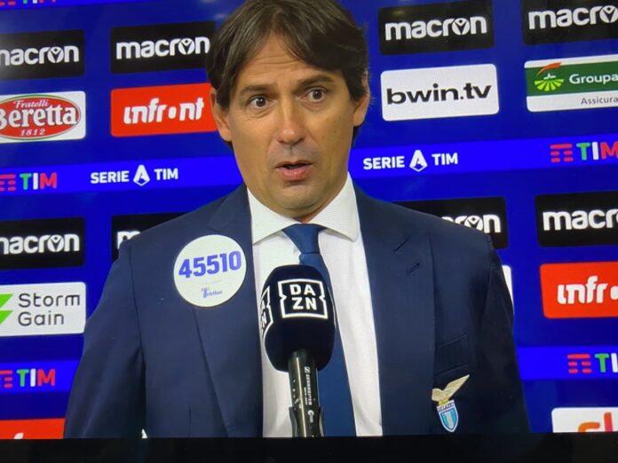 Inzaghi a DAZN post Lazio-Verona