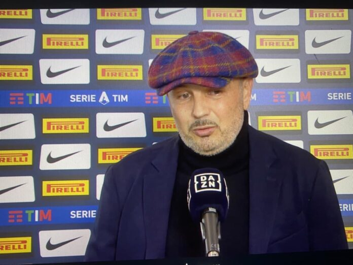 Mihajlovic post Inter-Bologna