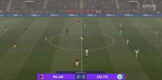 Milan-Celtic eCMIT