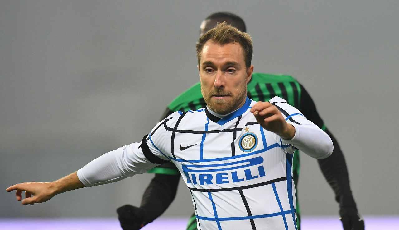 """Fiorentina-Inter, Conte: """"Eriksen giocherà nel ruolo di Brozovic"""""""