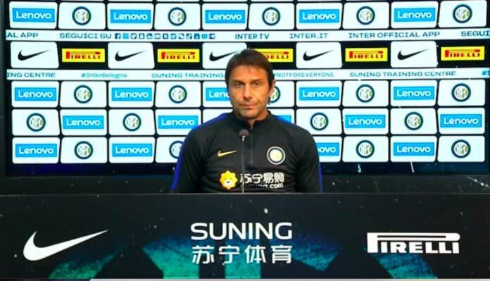 Conte conferenza Inter