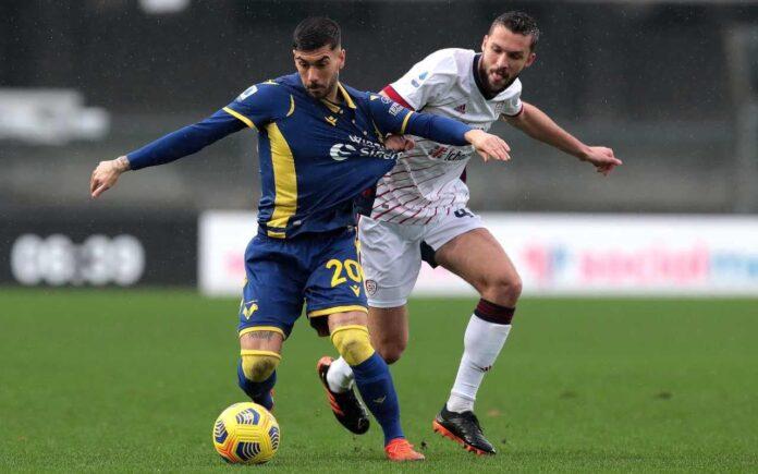 DIRETTA Serie A, Verona-Cagliari | Cronaca LIVE, formazioni ufficiali