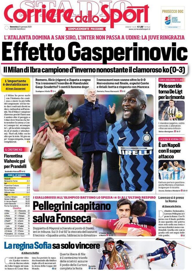 Corriere dello Sport, Effetto Gasperinovic