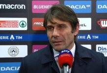Udinese-Inter, Conte