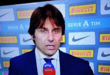 Inter-Juventus, Conte nel post partita