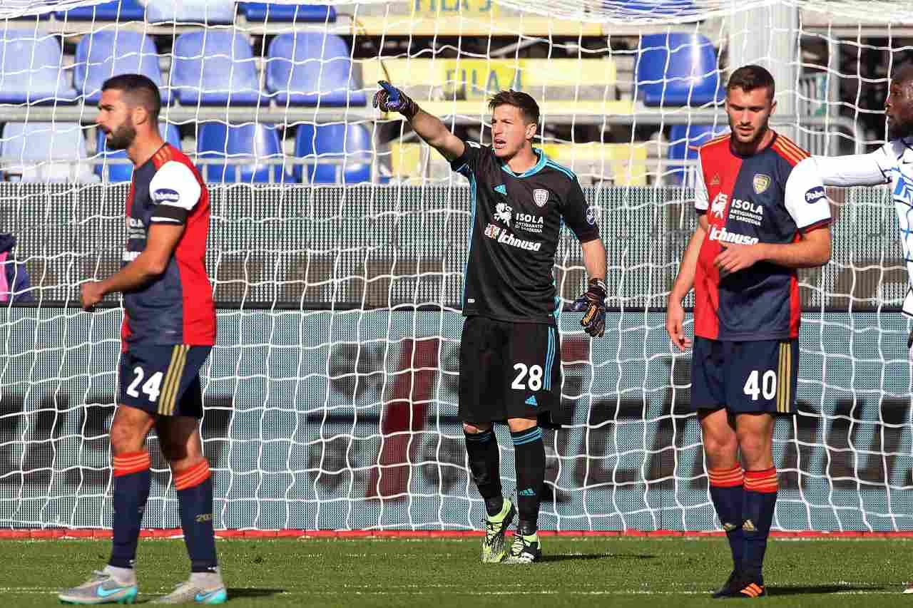 Calciomercato Inter, Cragno per il post-Handanovic