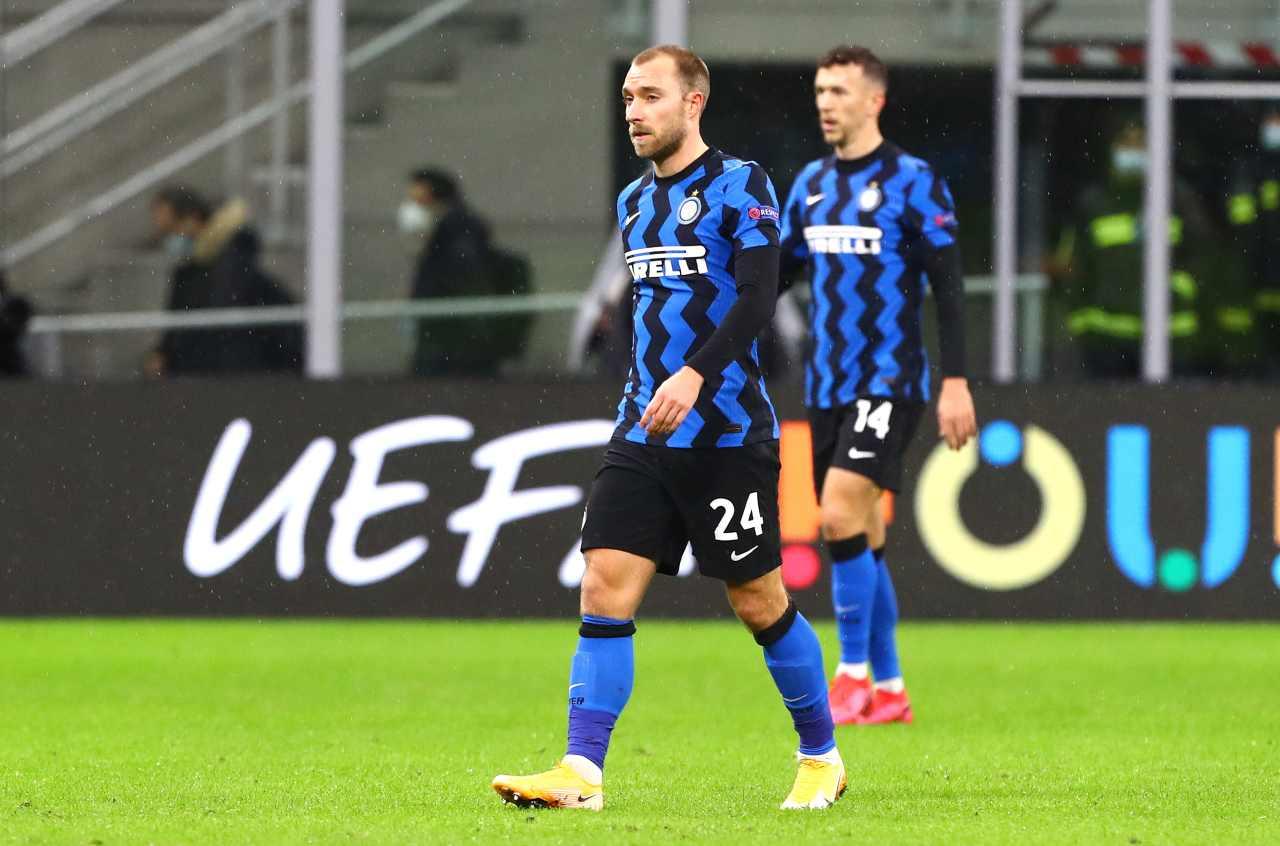 Calciomercato Inter, Eriksen per finanziare le entrate