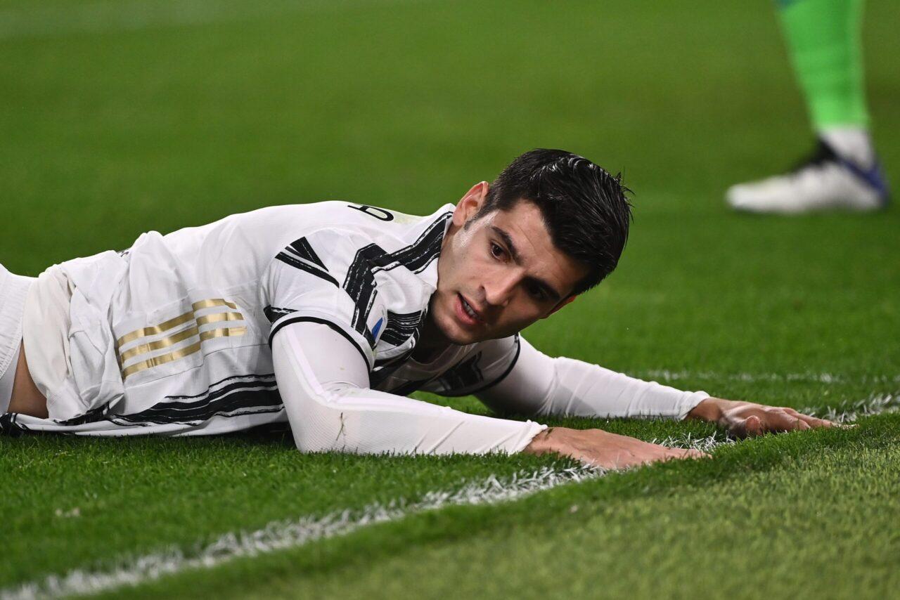 Inter-Juventus, scintille tra Morata e Bastoni