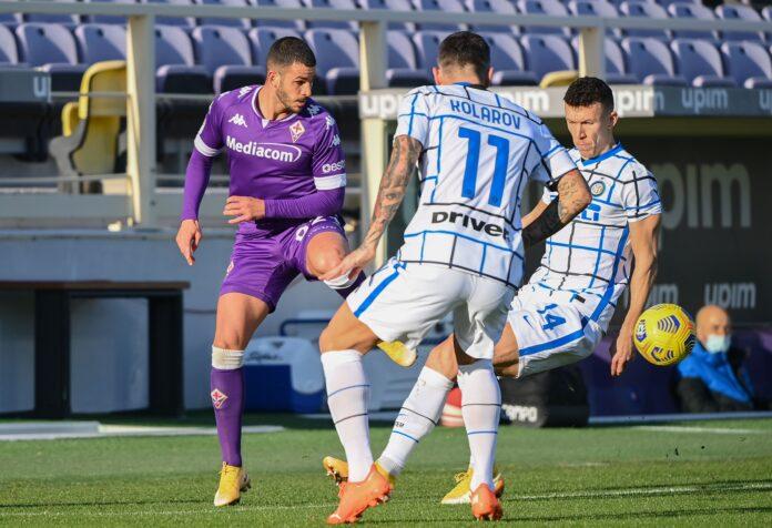 Fiorentina-Inter, Perisic nel mirino dei tifosi